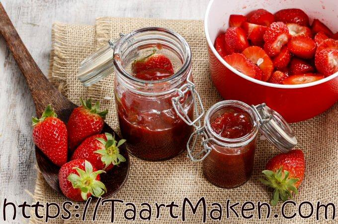 Aardbeienconfituur Piet Huysentruyt