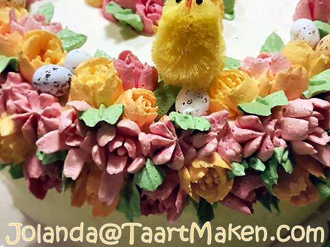 Bloemen gespoten met Russian Nozzles