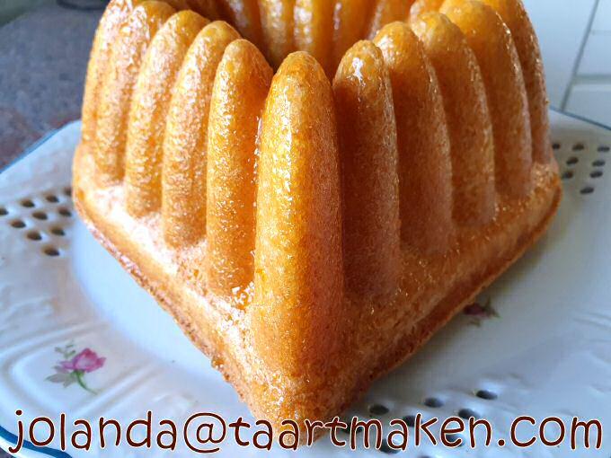 Cake met sinaasappel