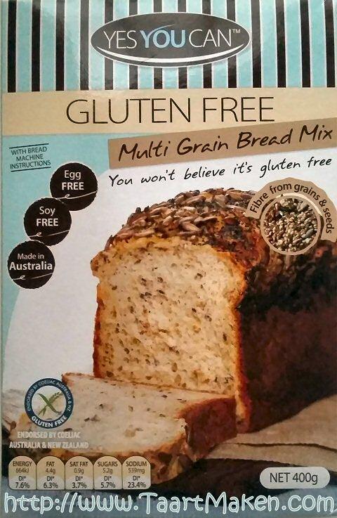 Broodmix om glutenvrij brood te bakken