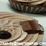 Kinder chocolade cupcakes