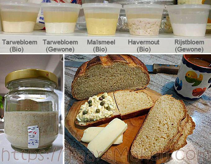 Zuurdesem + Zuurdesembrood