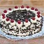 Schwarzwalder Kirsch Taart of Zwarte Woud taart die ieder kan bakken